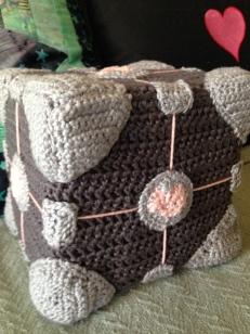 Finished Companion Cube (finally)