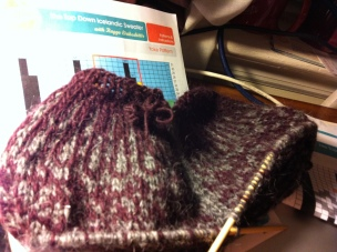 Color Work: The Top Down Icelandic Sweater