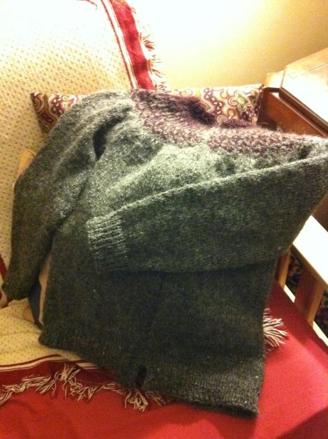 FinishedSweater
