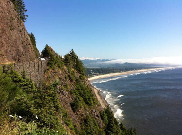 We visited friends who were staying at the Oregon Coast. Breathtaking.