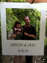 Bow ties are cool at Kirsten and Eigo's Wedding, August 10, 2013