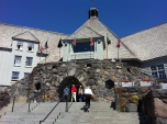 Trip to Timberline Lodge on Mt. Hood. It was, in fact, right at the timber line.