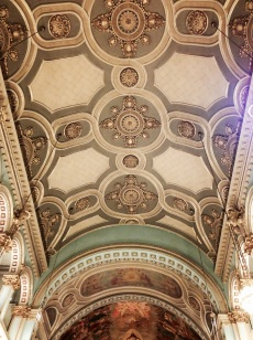 One of the most gorgeous ceilings I have ever seen