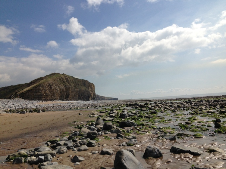 The cliffs of South Wales